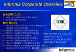 informix corporate overview1