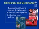 democracy and governance1