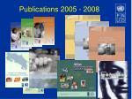 publications 2005 2008