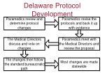 delaware protocol development