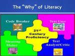 the why of literacy