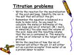 titration problems1