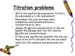 titration problems2