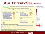 client dcr forestry viewer openlayers