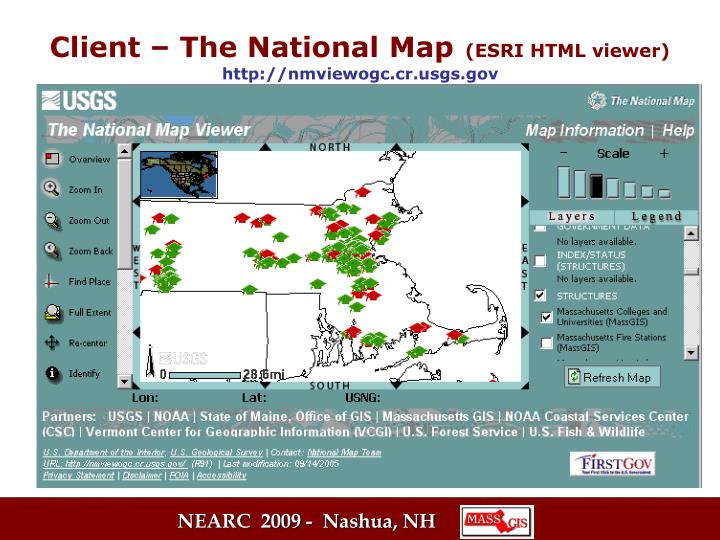 Client – The National Map
