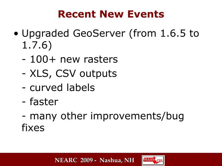 Upgraded GeoServer (from 1.6.5 to 1.7.6)