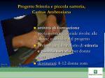 progetto stireria e piccola sartoria caritas ambrosiana