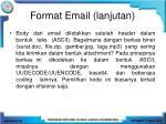 format email lanjutan1