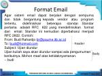 format email