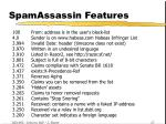 spamassassin features