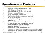 spamassassin features19