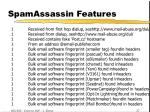 spamassassin features20