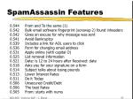 spamassassin features30