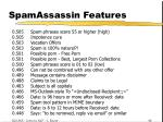 spamassassin features31