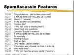 spamassassin features40