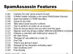 spamassassin features42