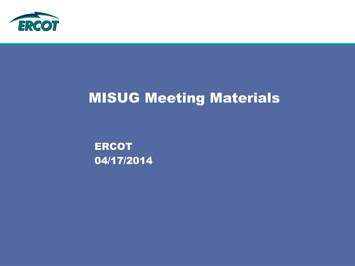 misug meeting materials n.