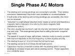 single phase ac motors1