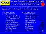 comp 4 schedule duration of registr procedures