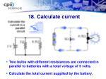 18 calculate current