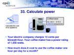 33 calculate power