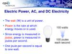 electric power ac and dc electricity1