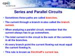series and parallel circuits3