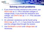 solving circuit problems1