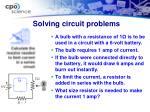 solving circuit problems2