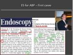 es for abp first cases