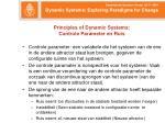principles of dynamic systems controle parameter en ruis