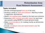 rickenbacker area road network assessment2