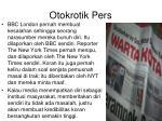 otokrotik pers
