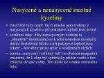 nasycen a nenasycen mastn kyseliny2