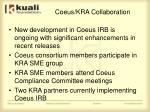 coeus kra collaboration