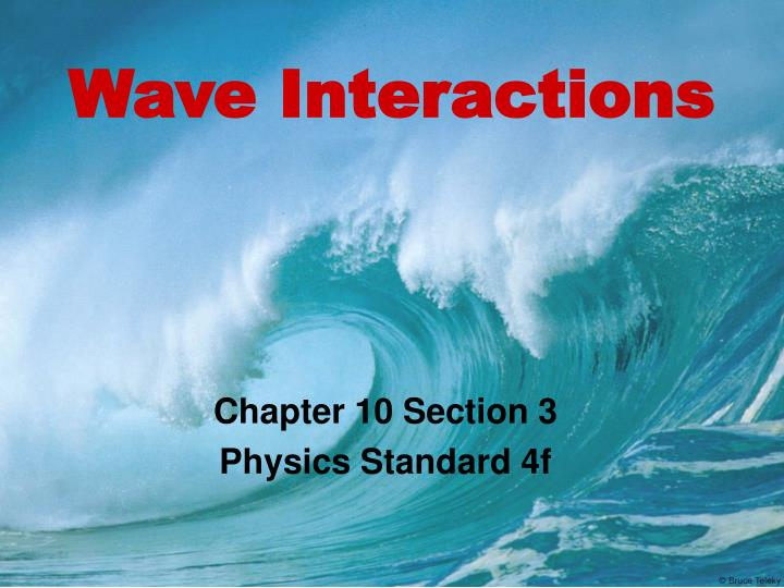 wave interactions n.