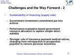challenges and the way forward 2