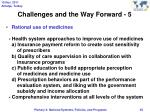 challenges and the way forward 5