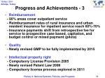 progress and achievements 3