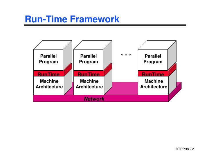 Run time framework
