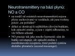 neurotransmittery na b zi plyn no a co3