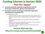 funding schemes in horizon 2020 how do i apply4