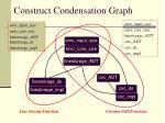 construct condensation graph