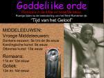 goddelijke orde1