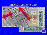 mems gyroscope chip