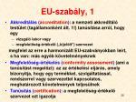 eu szab ly 1