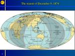 the transit of december 9 1874