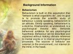 background information1