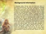 background information2