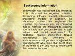 background information3